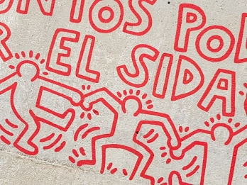 Street Art from Keith Haring, Barcelona