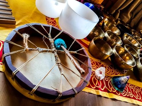 Les instruments de relaxation © Nadine Wick