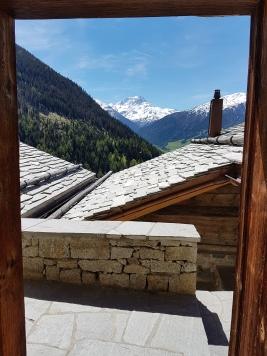 La vue depuis notre pas de porte © Nadine Wick